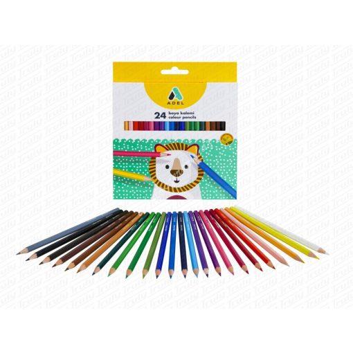Adel színes ceruza 24-es 2365