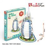 3D Puzzle - mini Burj Al Arab s3007