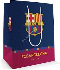 FC Barcelona ajándék tasak