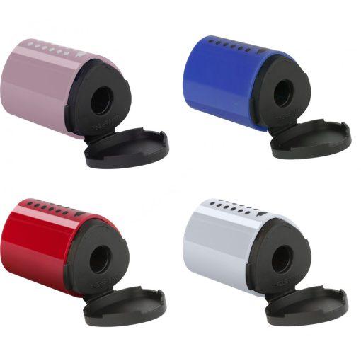 Faber-Castell mini Grip egylyukú hegyező 4 színben NEW