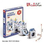 3D Puzzle - mini Tower Bridge s3010