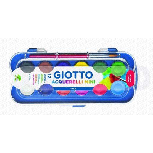 Giotto Acquerelli Mini vízfesték 12-es