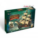 3D Puzzle - The San Felipe hajó t4017