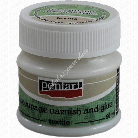 Pentart textil decoupage ragasztó 50 ml.