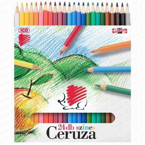 Süni Ico színes ceruza 24-es
