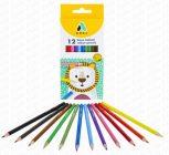 Színes ceruzák